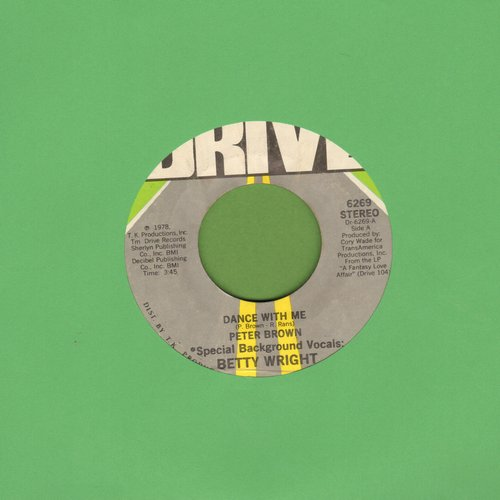 Brown, Peter - Dance With Me/For Your Love - EX8/ - 45 rpm Records