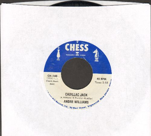 Williams, Andre - Cadillac Jack/Watusi (by The Vibrations on flip-side) (re-issue) - M10/ - 45 rpm Records