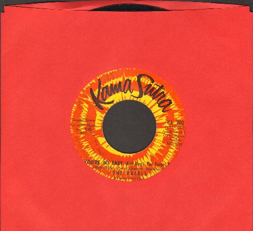 Vacels - You're My Baby (And Don't You Forget It)/Hey Girl, Stop Leaden Me On - VG7/ - 45 rpm Records