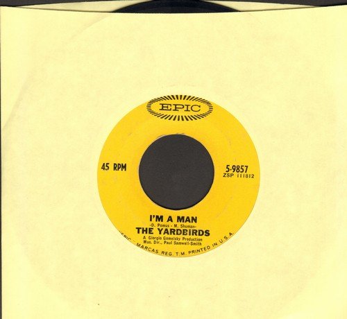 Yardbirds - I'm A Man/Still I'm Sad - VG7/ - 45 rpm Records