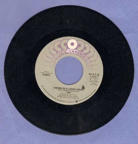 Yes - Owner Of A Lonely Heart/Our Song  - NM9/ - 45 rpm Records