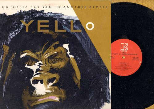 Yello - You Gotta Say Yes To Another Excess: I Love You, Crash Dance, Swing, Pumping Velvet (vinyl STEREO LP record) - NM9/EX8 - LP Records