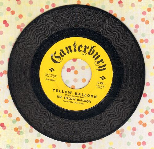 Yellow Balloon - Yellow Balloon/Noollab Wolley (bb) - EX8/ - 45 rpm Records