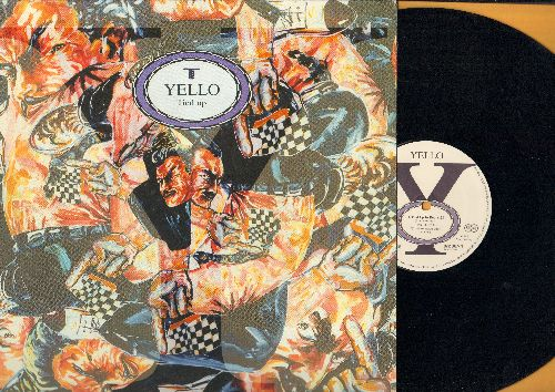 Yello - Tied Up (6:05)/Wall Street Bongo (3:05)/Tied Up In Red (8:28) (12 inch vinyl Maxi Single, German Pressing with picture cover) - NM9/NM9 - Maxi Singles