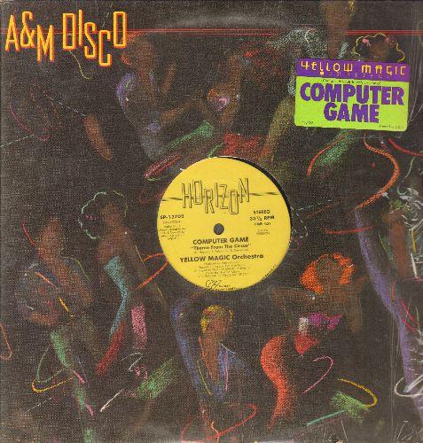 Yellow Magic Orchestra - Computer Game/ Yellow Magic (Tong Poo) (12 inch vinyl Maxi Single) - EX8/ - Maxi Singles