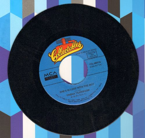 Yearwood, Trisha - She's In Love With The Boy/Victim Of The Game (double-hit re-issue) - NM9/ - 45 rpm Records