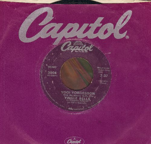 Yorgesson, Yogi - I Yust Go Nuts At Christmas/Yingle Bells (re-issue with Capitol company sleeve) - VG7/ - 45 rpm Records