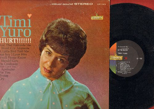Yuro, Timi - Hurt!!!!!!!: You'll Never Know, I Apologize, Cry, And That Reminds Me (vinyl STEREO LP record) - NM9/EX8 - LP Records
