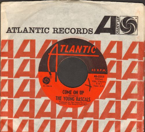 Young Rascals - Come On Up/What Is The Reason  (with company sleeve) - EX8/ - 45 rpm Records