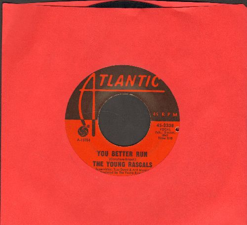 Young Rascals - You Better Run/Love Is A Beautiful Thing (bb) - EX8/ - 45 rpm Records