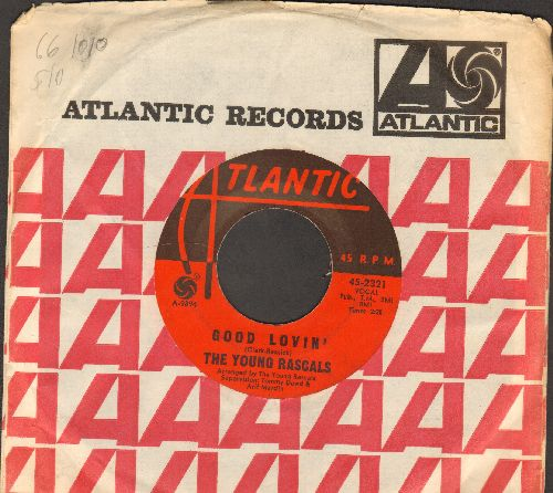 Young Rascals - Good Lovin'/Mustang Sally (with Atlantic company sleeve) - VG7/ - 45 rpm Records