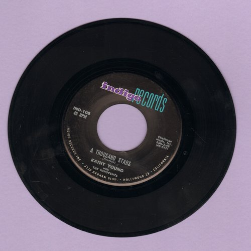 Young, Kathy - A Thousand Stars/Eddie My Darling (MINT condition) - NM9/ - 45 rpm Records