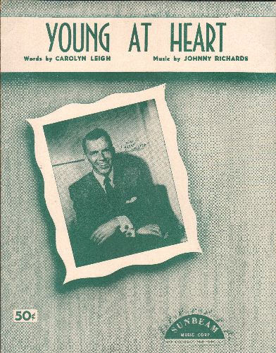 Sinatra, Frank - Young At Heart - Vintage SHEET MUSIC for the Standard made popular by Frank Sinatra - EX8/ - Sheet Music
