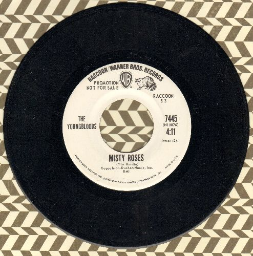 Youngbloods - Misty Roses/Hippie From Olema (DJ advance pressing) - NM9/ - 45 rpm Records