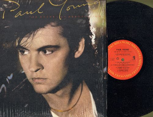 Young, Paul - The Secret Of Association: Everytime You Go Away, Everything Must Change, Tomb Of Memories, Soldier's Things (vinyl STEREO LP record) - NM9/NM9 - LP Records