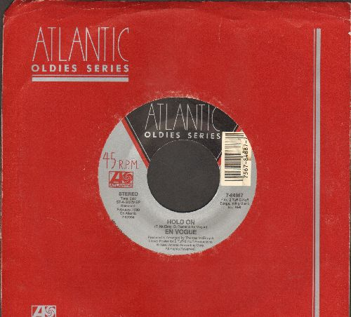 En Vogue - Hold On/Lies (double-hit re-issue with Atlantic company sleeve) - EX8/ - 45 rpm Records