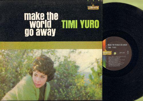 Yuro, Timi - Make The World Go Away: She's Got You, I Walk The Line, Leavin' On Your Mind (vinyl MONO LP record) - NM9/NM9 - LP Records