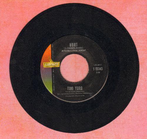 Yuro, Timi - Hurt/I Apologize  - VG7/ - 45 rpm Records