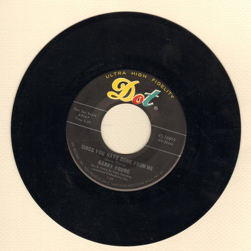 Young, Barry - Since You Have Gone From Me/Nashville, Tennessee - NM9/ - 45 rpm Records