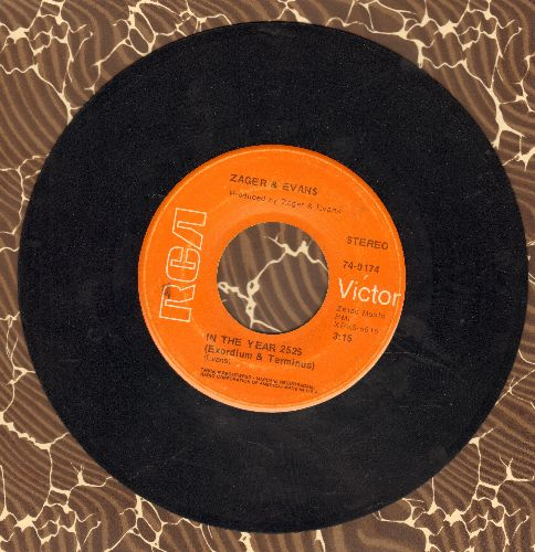 Zager & Evans - In The Year 2525/Little Kids  - VG7/ - 45 rpm Records