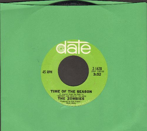 Zombies - Time Of The Season/Friends Of Mine (NICE condition!) - NM9/ - 45 rpm Records