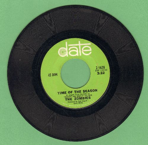 Zombies - Time Of The Season/Friends Of Mine  - EX8/ - 45 rpm Records