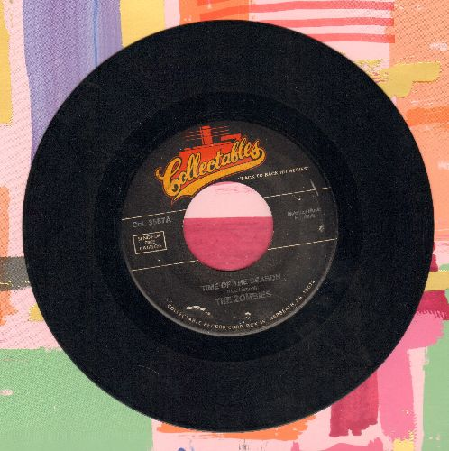 Zombies - Time Of The Season/She's Coming Home (double-hit re-issue) - EX8/ - 45 rpm Records