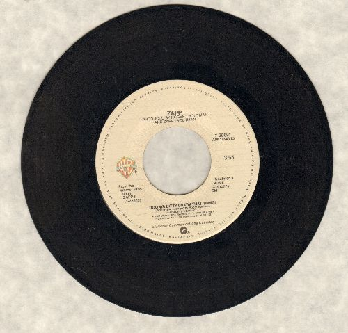 Zapp - Doo Wa Ditty (Blow That Thing)/Come On - EX8/ - 45 rpm Records