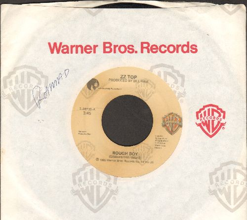 ZZ Top - Rough Boy/Delicious (with Warner Brothers company sleeve) - VG7/ - 45 rpm Records