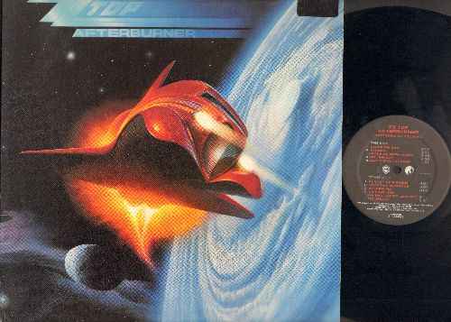 ZZ Top - Afterburner: Sleeping Bag, Can't Stop Rockin', Velcro Fly, Delirious, Rough Boy (vinyl STEREO LP record, soc) - EX8/EX8 - LP Records