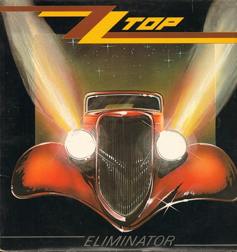 ZZ Top - Eliminator: Gimme All Your Lovin, Sharp Dressed Man, Legs, Bad Girl, TV Dinners, Dirty Dog (vinyl LP record) - EX8/EX8 - LP Records