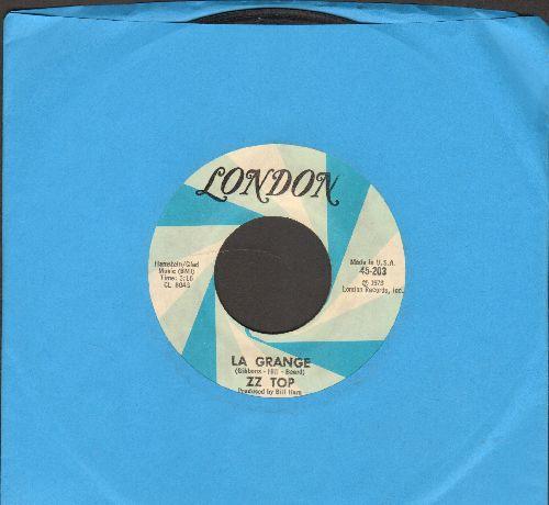 ZZ Top - La Grande/Just Got Paid - EX8/ - 45 rpm Records