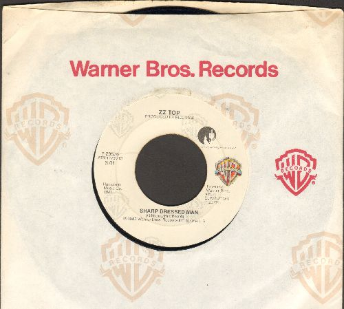 ZZ Top - Sharp Dressed Man/I Got The Sex (with Warner Brothers company sleeve) - EX8/ - 45 rpm Records