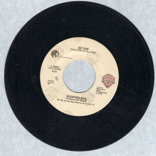 ZZ Top - Sleeping Bag/Party On The Patio  - EX8/ - 45 rpm Records