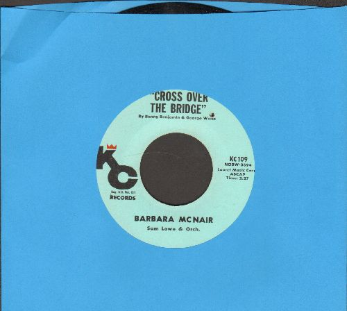 McNair, Barbara - Cross Over The Bridge/Glory Land (bb) - NM9/ - 45 rpm Records