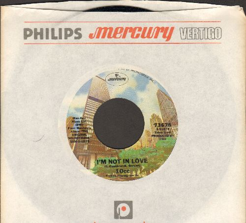 10 CC - I'm Not In Love/Channel Swimmer (with company sleeve) - EX8/ - 45 rpm Records