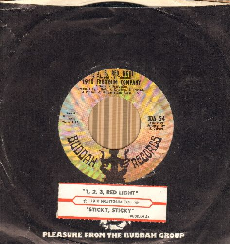 1910 Fruitgum Co. - The Train/Eternal Light (with juke box label and  Buddah company sleeve) - NM9/ - 45 rpm Records