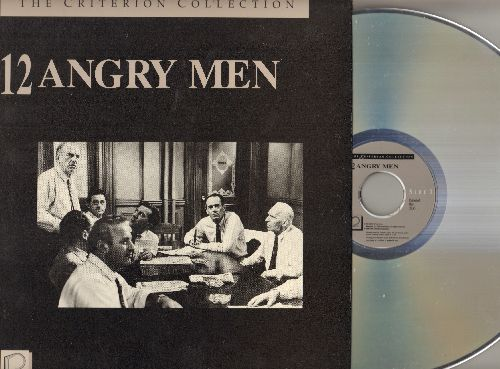 12 Angry Men - 12 Angry Men - LASER DISC Version of the 1956 All-Star Drama Classic - NM9/NM9 - Laser Discs