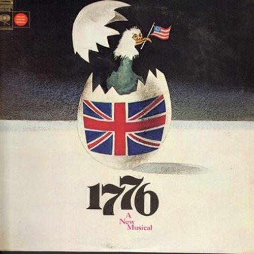 Original Broadway Cast - 1776 - A New Musical (Original Broadway Cast Album, vinyl STEREO LP record) - NM9/NM9 - LP Records