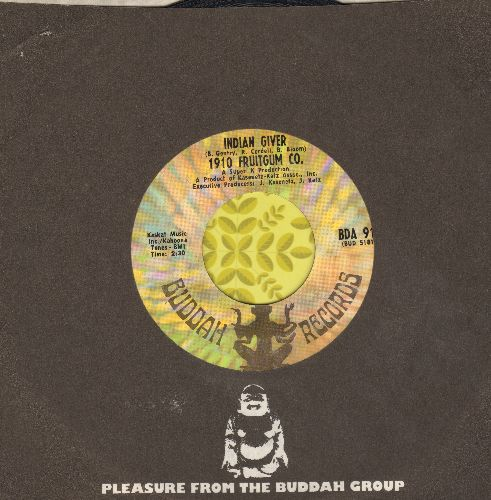 1910 Fruitgum Co. - Indian Giver/Pow Wow - EX8/ - 45 rpm Records