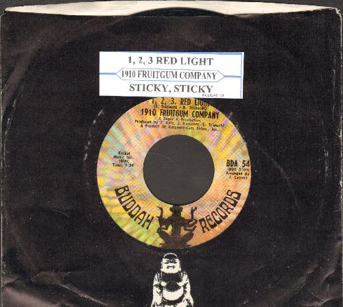 1910 Fruitgum Co. - The Train/Eternal Light (with vintage Buddah company sleeve) - NM9/ - 45 rpm Records