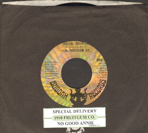 1910 Fruitgum Co. - Special Delivery/No Good Annie (with juke box label Buddah company sleeve) - EX8/ - 45 rpm Records