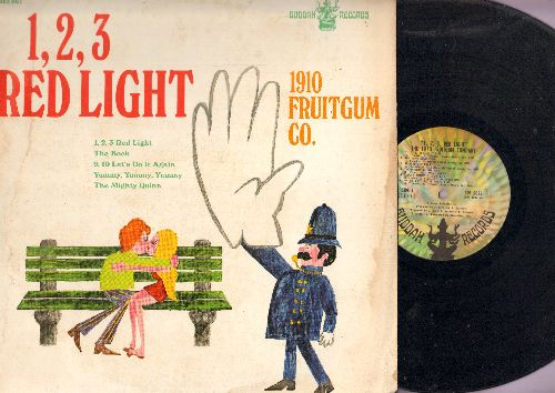 1910 Fruitgum Co. - 1.2.3 Red Light: Yummy Yummy Yummy, The Mighty Quinn, Sister John (vinyl STEREO LP record) - VG7/VG7 - LP Records