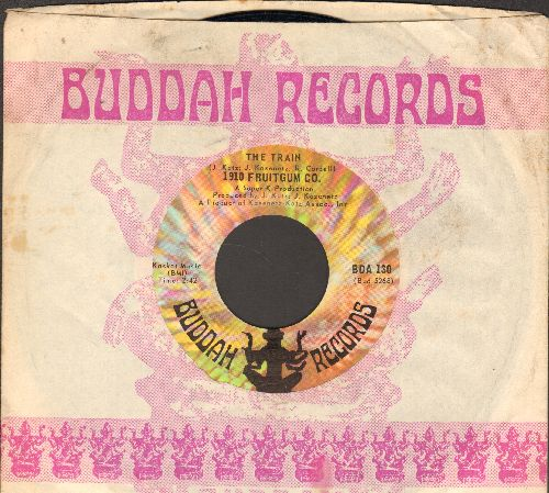 1910 Fruitgum Co. - 1, 2, 3 Red Light/Sticky Sticky (with company sleeve and juke box label) - EX8/ - 45 rpm Records
