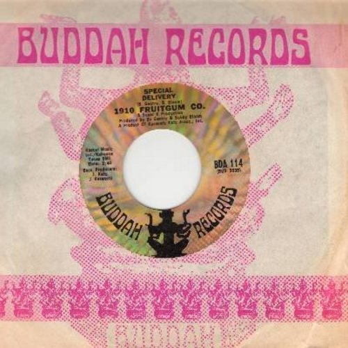 1910 Fruitgum Co. - Special Delivery/No Good Annie (with Buddah company sleeve) - NM9/ - 45 rpm Records