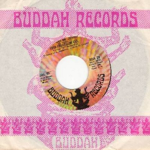 1910 Fruitgum Co. - (Poor Old) Mr. Jensen/May I Take A Giant Step (Into Your Heart) (with vintage Buddah company sleeve) (wol) - EX8/ - 45 rpm Records