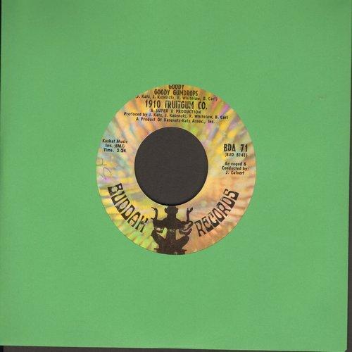 1910 Fruitgum Co. - Goody Goody Gumdrops/Candy Kisses (bb) - EX8/ - 45 rpm Records