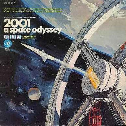 2001 Space Oddyssey - 2001 Space Odyssey - Music From The Motion picture Sound Track (Vinyl STEREO LP record, gate-fold cover first issue) - EX8/EX8 - LP Records
