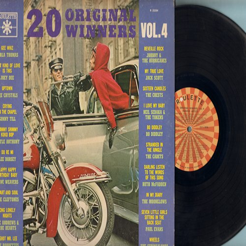 Thomas, Carla, Joey Dee, Crystals, Cleftones, Bobbettes, Cadets, crests, Paul Evans, others - 20 Original Winners Vol. 4: Gee Whiz, What Kind Of Love Is This, Uptown, Crying In The Chapel, Heart And Soul, Stranded In The Jungle, Seven Little Girls Sitting