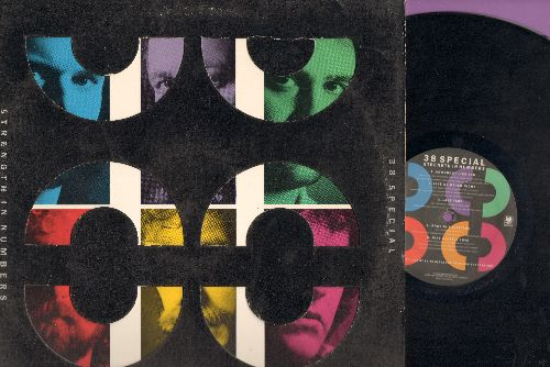 38 Special - Strength In Numbers: Somebody Like You, Like No Other Night, Last Time, Once iN A Lifetime, Just A Little Love, Has There Ever Been A Good Goodbye, One In A Million, Heart's On Fire, Against The Night, Never Give An Inch (Vinyl Stereo LP Reco